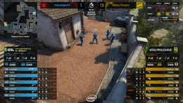 NaVi vs. Mousesports Map 3 in one sentence
