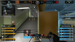 ropz - 3 AK kills on the defense to secure a comfortable map victory for mousesports