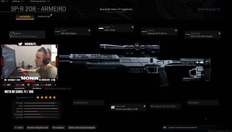 sniper roubada