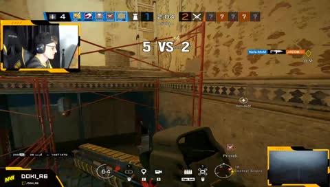 Doki - German fragger kills ranked hero noname