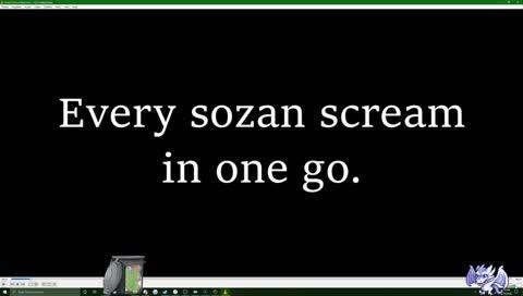 Sozan - Every Sozan scream in one go