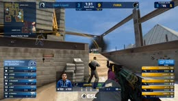 EliGE - 4 quick M4A4 HS kills on the bombsite A defense