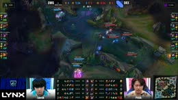 DAMWON takes the Rift Herald and two of DRX! 2020 Worlds QF