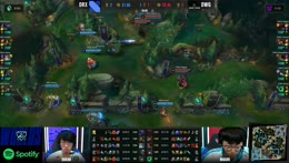 DRX catches DWG in the jungle! 2020 Worlds QF