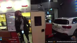 Heosu hits head exiting food truck exbcADHD