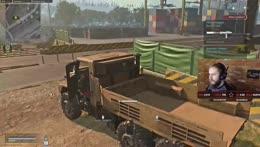 Truck shakin' and dancin'!