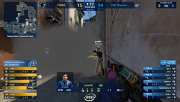 VINI - 4 kills (3 AK, AWP) on the bombsite A offensive to secure the map victory for FURIA