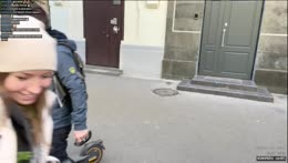 Подружим наши скутеры - Walking around Kiev 😊 10/10/21