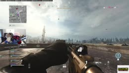 Funny collateral heli snipe