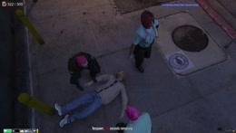 Mervin was shot!