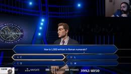 How is 1000 written in Roman numerals?