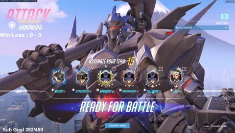 Shock_OW - can't carry idiots