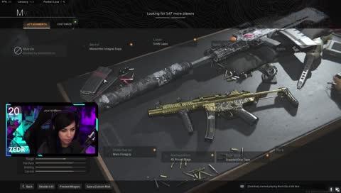 Alex_Zedra - MP5 Warzone Loadout