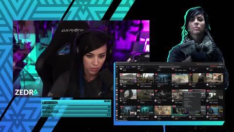 Alex_Zedra - Zedra picks TheDankPrincess to raid