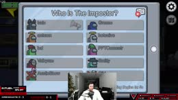Train has 200IQ and knows who the imposter is