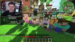 OTV minecraft server sings happy birthday