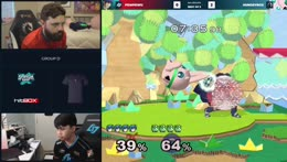 Chillin asks Zain if Hbox is doing no DI on Marth's throws on purpose