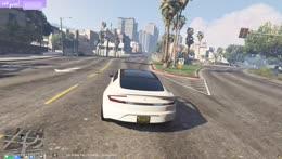 The Tesla's Self Driving!