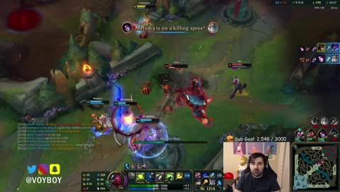 Voyboy - Voyboy expresses his attitude towards the adc champions
