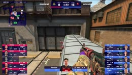 chrisJ - 3 AWP kills on the bombsite A defense to secure the match victory for mousesports