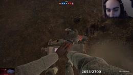 Sliker dodging bullet irl