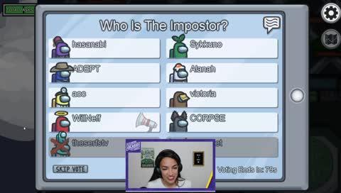Alexandria Ocasio-Cortez - AOC does her CORPSE impression