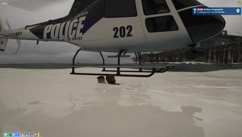 ashlynn - Brenda tries to get in the chopper