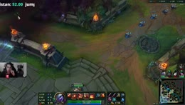 Dom get hit by Nidalee spear