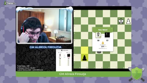 FIROUZJA STARTED TALKING ABOUT LICHESS AND GETS CUT OFF