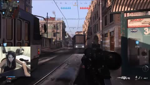 Sniping in Search - Proud of this one - Wallstreet playing Call of Duty