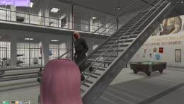 Lana in jail