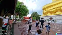 Giant Gold Buddha