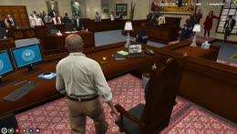 Judge Randall Addresses The Nation