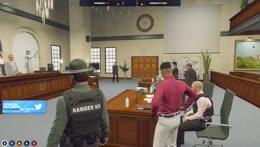 The verdict of the court case