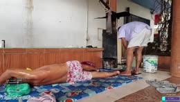 Hot Oil Massage, Thai Style