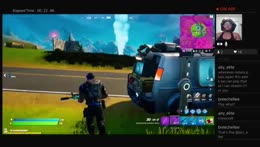 The Bonnet Gamer Competes Solo Dolo in Fornite and Gets Victory Royal