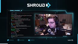 Shroud on xqc fixing his textures everygame