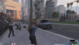 Just ignore Police they don't exist