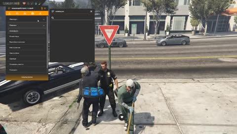 Как нужно ухаживать за офицером полиции