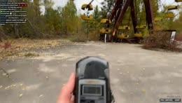 Колесо обозрения - Chernobyl / Pripyat city ☢️ Чернобыль / Припять 12/10/21
