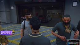 Benji gets the first Vagos custom chain