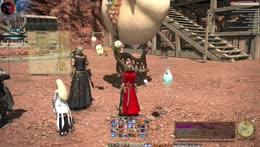 Kari flexing her mounts 3