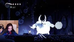 Karl sings the Bakugan opening while Tina dies in Hollow Knight