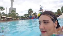 Swim lesson by Keth