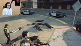 xQc breaks he ice between the corpses