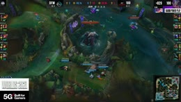 100 Thieves grab the game-winning ace against DetonatioN FocusMe! Worlds 2021 Group Stage Day 2