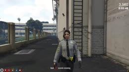 40 Cop on Duty