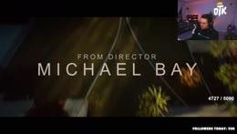 cyr gives a description of Michael Bay