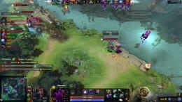 Team Spirit fight with iG