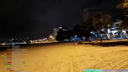 Lit up clouds in the Night - Pattaya - 22/9/21